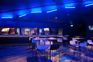 image of lighting in cinema complex