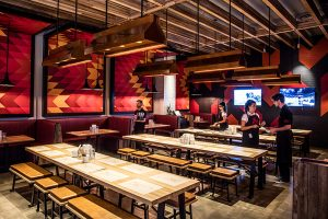 Image of restaurant and bar lighting in Melbourne