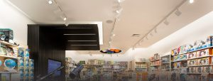 image of commercial lighting solution for retail store