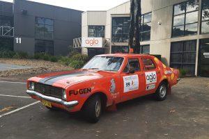 Aglo Systems - Beyond Blue Car Rally