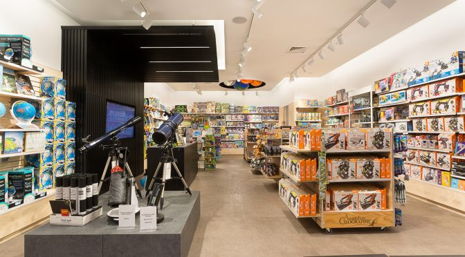 Australian Geographic Retail Store Lighting Design and Supply