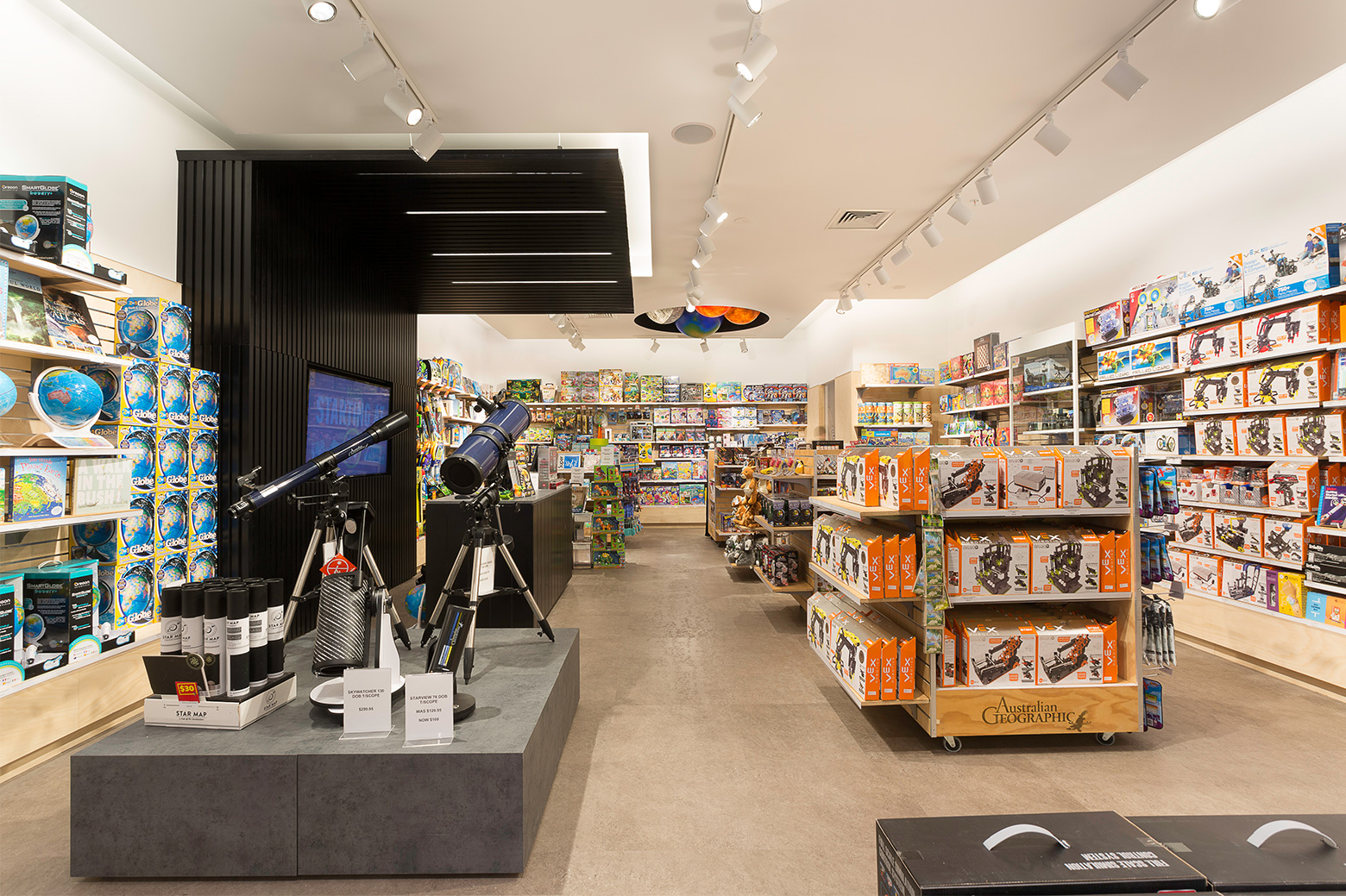 Retail store lighting led lighting for retail stores lighting australian geographic retail store lighting design and supply arubaitofo Choice Image