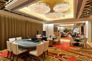 Casino chandeliers for gaming room