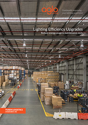 image brochure for lightning efficiency upgrades