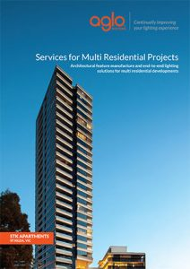 image brochure for multi residential projects