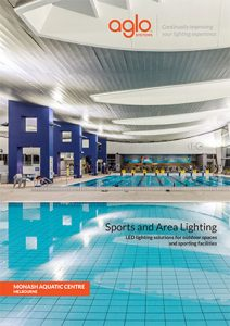 image brochure for sports and area lighting