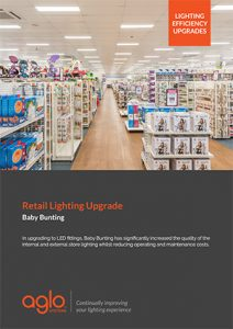 image brochure for baby bunting case study