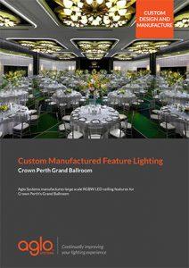 image brochure for crown perth grand ballroom case study