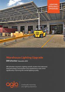 image brochure for dbschenker case study