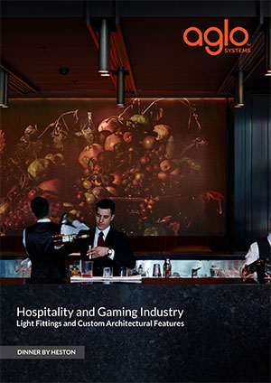 image brochure for hospitality and gaming