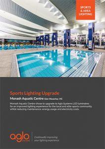 image brochure for monash aquatics case study