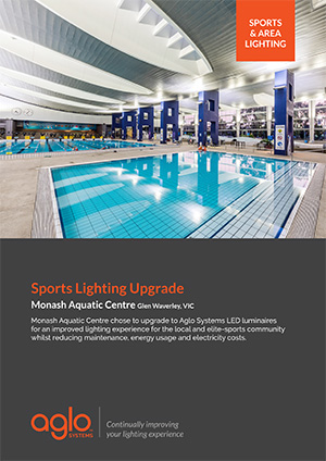 image brochure for monash aquatics case study