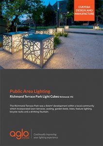 image brochure for richmond terrace case study