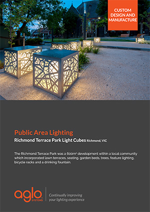 image brochure for richmond terrace case study
