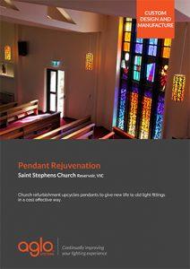 image brochure for saint stephens church case study