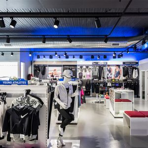 image of good lighting design for a retail environment