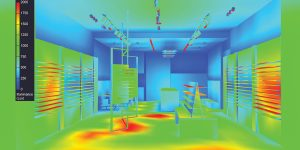 image of heatmap used in lighting design