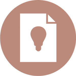 icon for savings report and ligting design