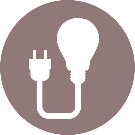 icon for supply and installation