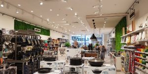 image of retail lighting design and supply for homeware stores