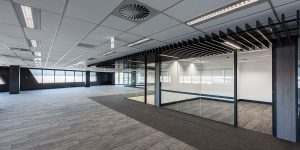 image of office commercial lighting