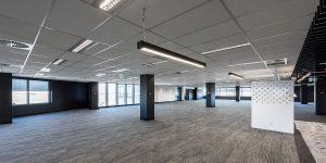troffer lighting for commercial office lighting
