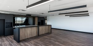 image of office commercial lighting troffers