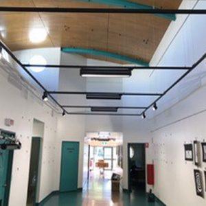 image of school lighting