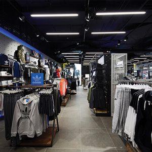 image of retail store lighting