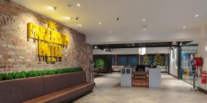 image of hotel lighting