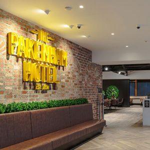 image of Bespoke hotel lighting