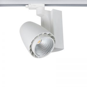 image of the shopra white used for commercial spotlights and trackings