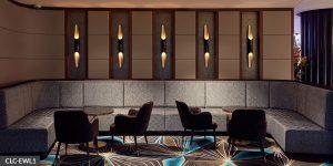 image of hospitaliy lighting in lounge area