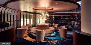 image of custom built hospitality lighting fixture