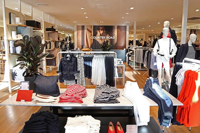 image of retail store lighting upgrade