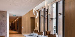 Custom lighting, Ritz-Carlton, Perth