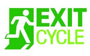 Logo for exit cycle