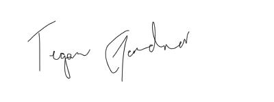 Tegan Gardner Mock Signature