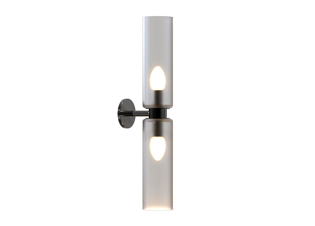 Arielle I Wall Sconce Black