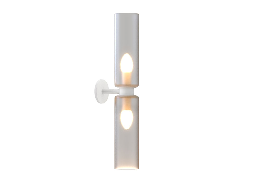 Arielle I Wall Sconce White