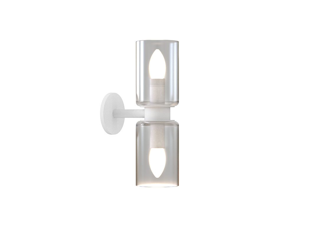 Arielle III Wall Sconce White