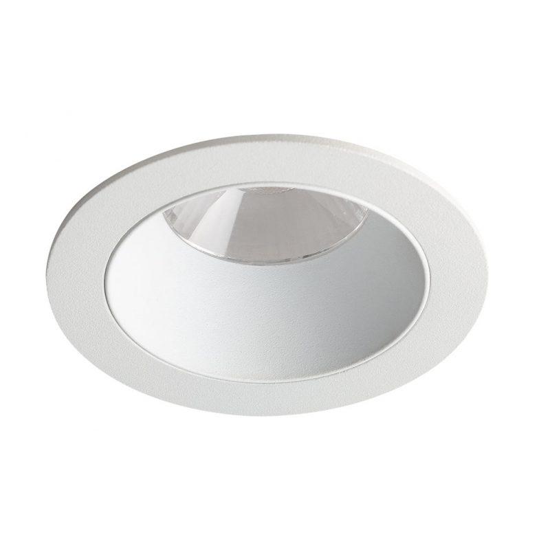 Bron Fixed White Trim White Baffle mondolux used product